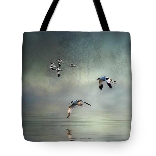 Avocet Dawn Tote Bag