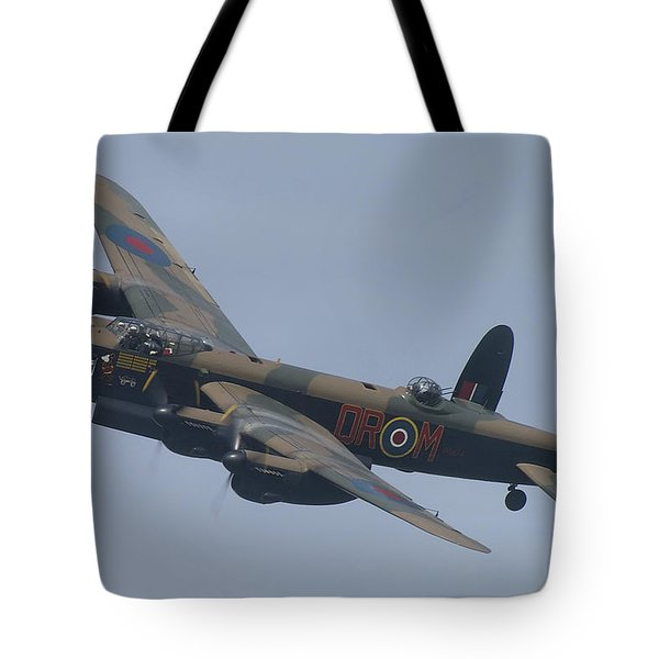 Avro Lancaster B1 Pa474  Tote Bag by Tim Beach
