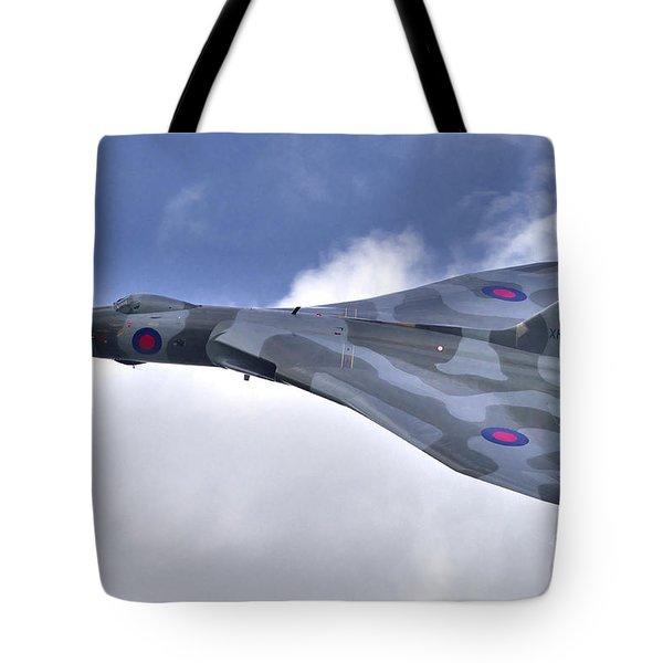 Avro Vulcan Bomber #xh558 Tote Bag