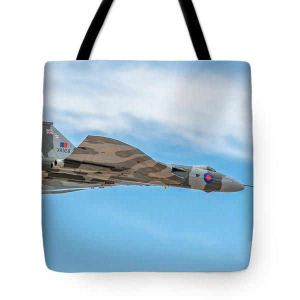 Avro Vulcan Xh558  Tote Bag