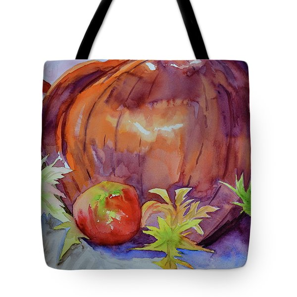 Tote Bag featuring the painting Awaiting by Beverley Harper Tinsley