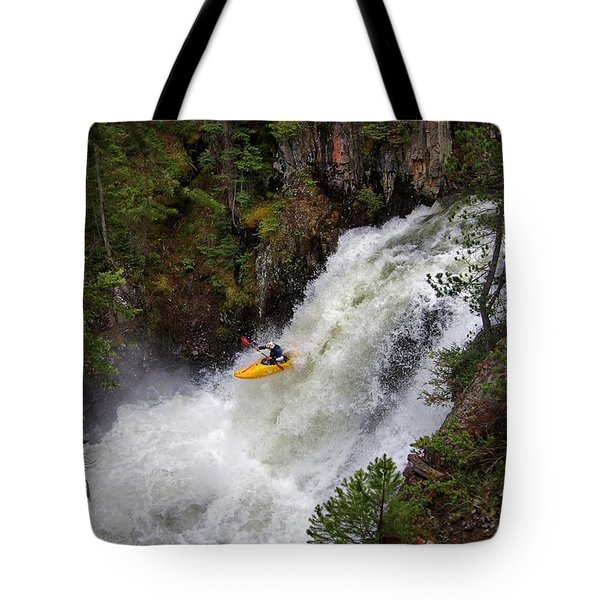 Awaiting Impact Tote Bag