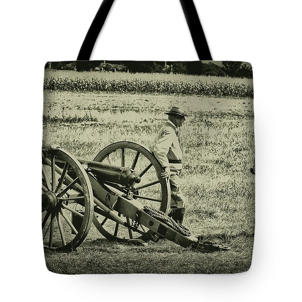 Awaiting Orders Tote Bag by Bill Cannon