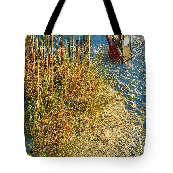 Awaiting Relaxation Tote Bag