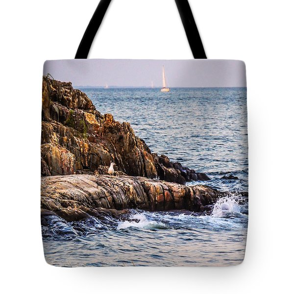 Tote Bag featuring the photograph Awaiting The Call by Glenn Feron