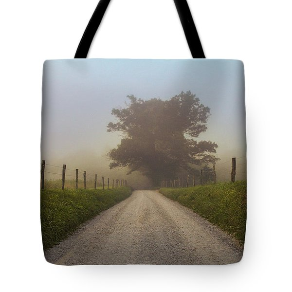 Awaiting The Horizon Tote Bag