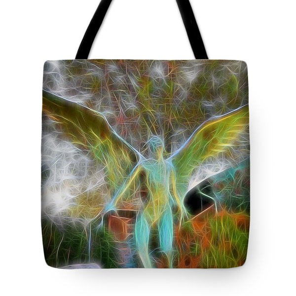 Tote Bag featuring the photograph Awaken by Gina Savage