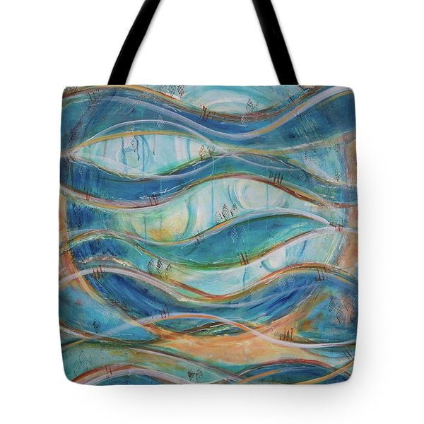 Awaken Tote Bag by Jocelyn Friis