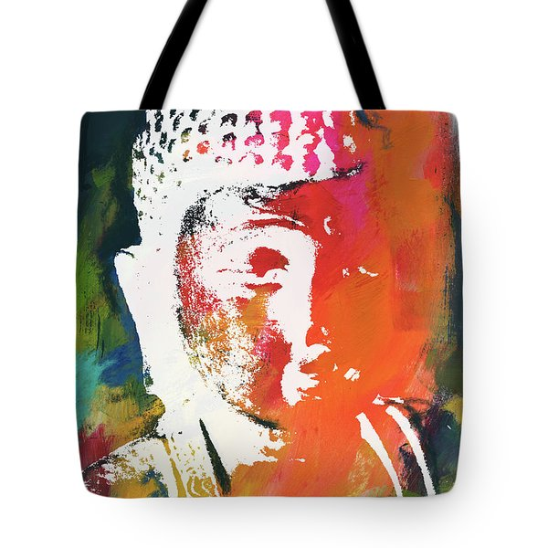 Awakened Buddha 5- Art By Linda Woods Tote Bag