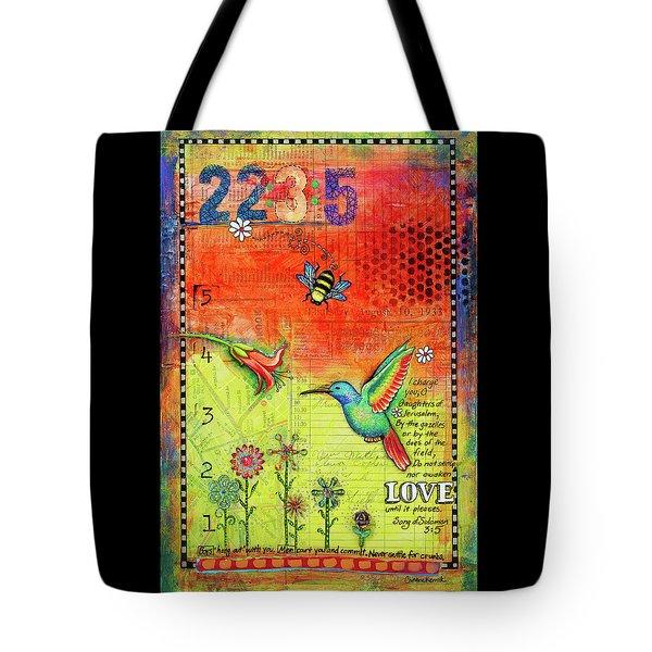 Awakening Love Tote Bag