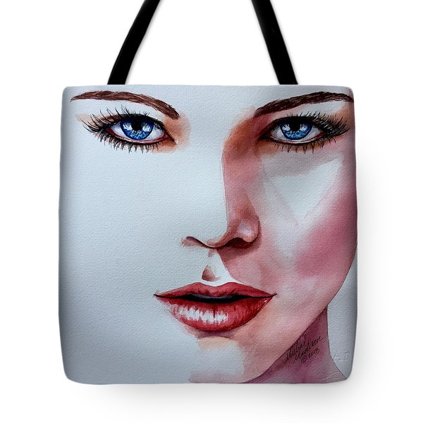 Tote Bag featuring the painting Awakening by Michal Madison