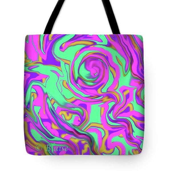 Awakening Spring Tote Bag by Yvonne Blasy
