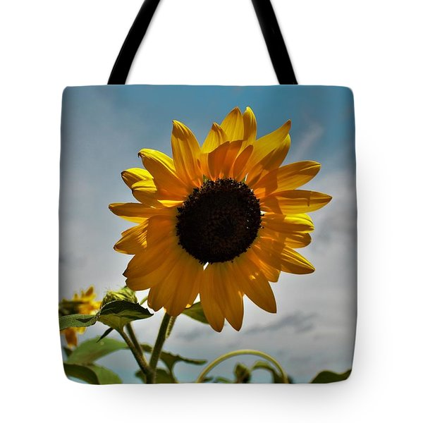 2001 - Awakening Sunflower Tote Bag
