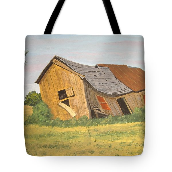 Tote Bag featuring the painting Award-winning Original Acrylic Painting - Now I Lay Me Down To Sleep by Norm Starks