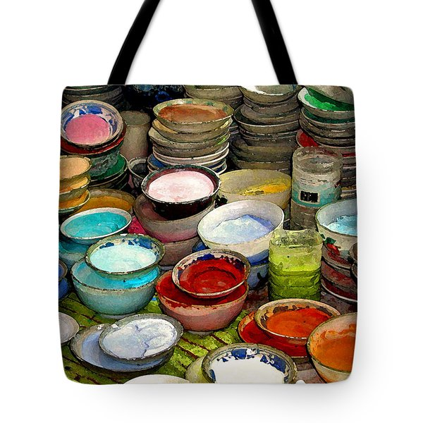 Awash In Color Tote Bag