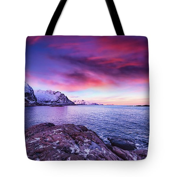 Away From Today Tote Bag