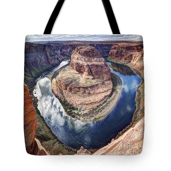 Awesome Amazing Horseshoe Bend Arizona Tote Bag