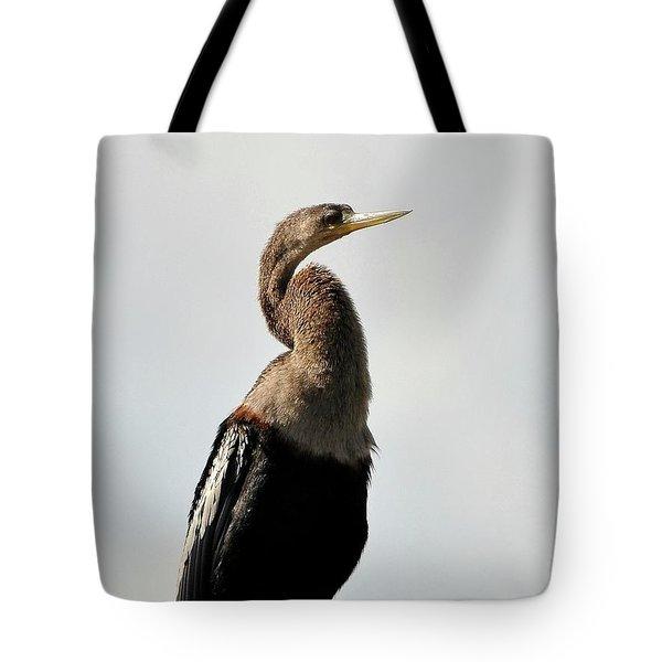 Awesome Anhinga Tote Bag by Al Powell Photography USA