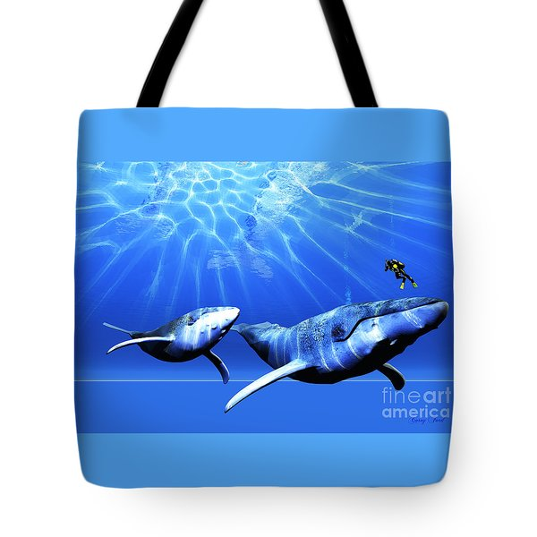Awesome Tote Bag by Corey Ford