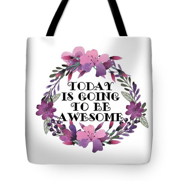 Awesome Day Tote Bag