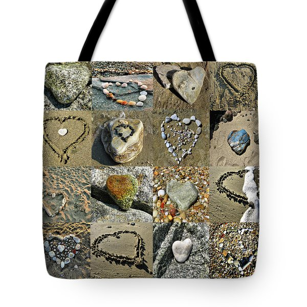 Awesome Hearts Found In Nature - Valentine S Day Tote Bag