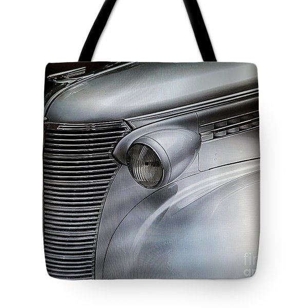 Awesome Silver Grill Tote Bag by Tom Riggs