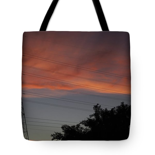 Tote Bag featuring the photograph Awesome Sky by Anne Rodkin