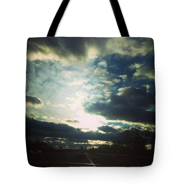Highway Heaven Tote Bag