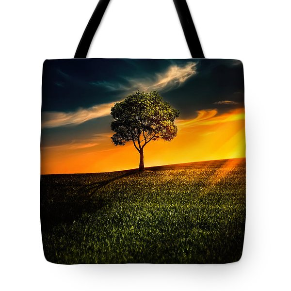 Awesome Solitude II Tote Bag