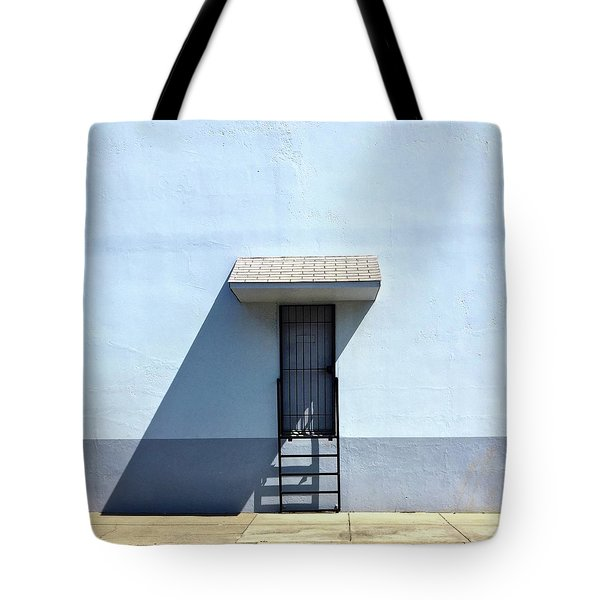 Awning Shadow Tote Bag by Julie Gebhardt