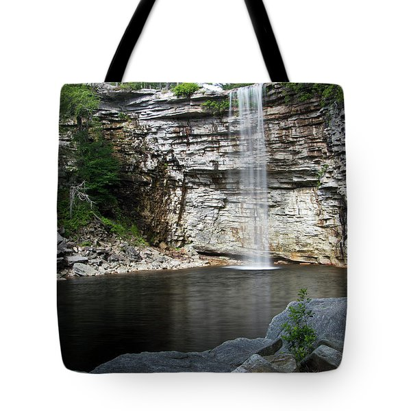 Awosting Falls In July II Tote Bag by Jeff Severson