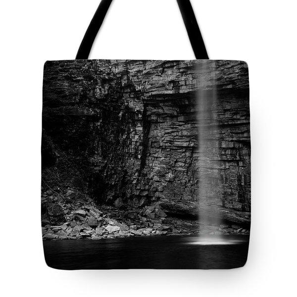 Awosting Falls In Spring #4 Tote Bag by Jeff Severson