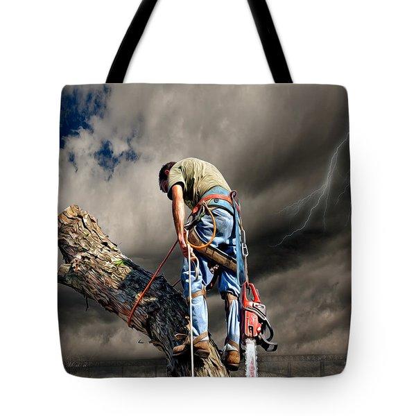 Ax Man Tote Bag