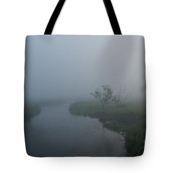 Axe In The Mist Tote Bag