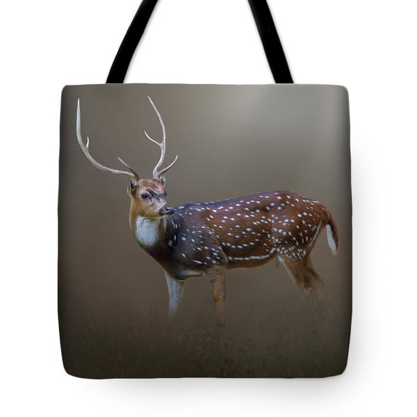 Axis Deer Tote Bag