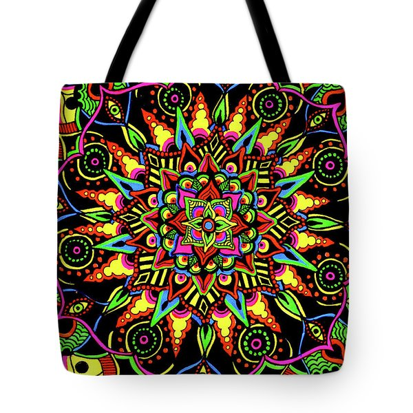 Axis Of Change Tote Bag