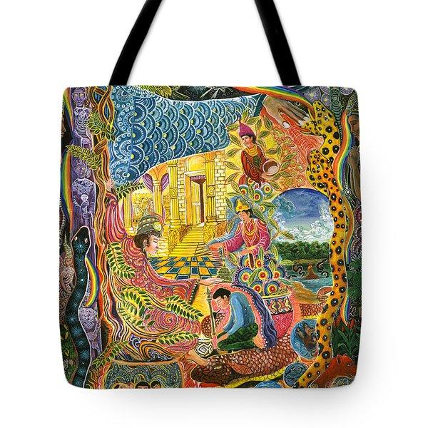 Ayahuasca Chayana Tote Bag