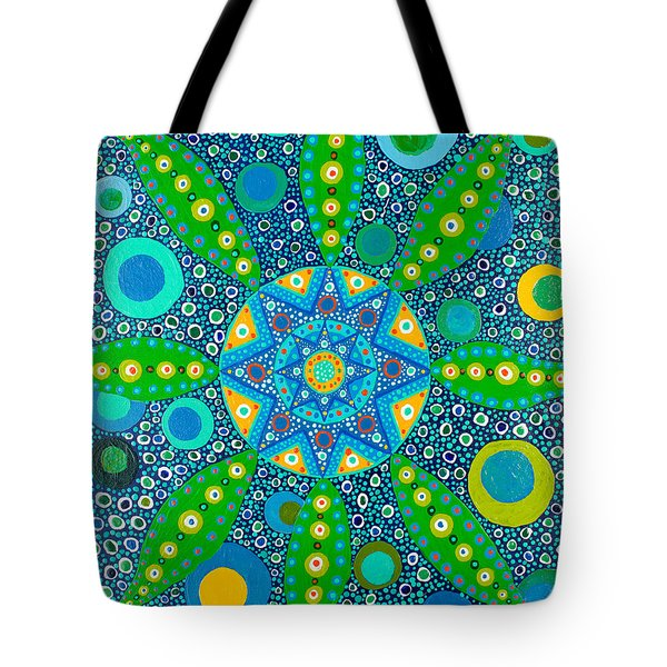 Ayahuasca Vision - Inside The Plant Cell  May 2015 Tote Bag
