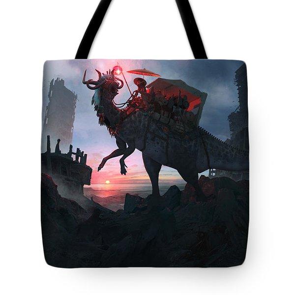 Ayanami Sunrider Tote Bag