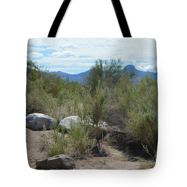 Az Desert Rocks Tote Bag