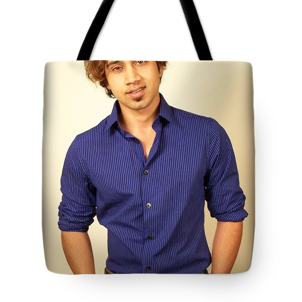 Az Fitness Model Tote Bag by Jake Hartz