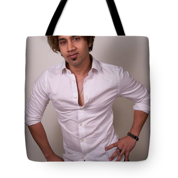 Az Model Mayhem Tote Bag by Jake Hartz