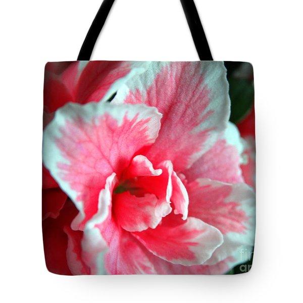 Azalea Close-up Tote Bag