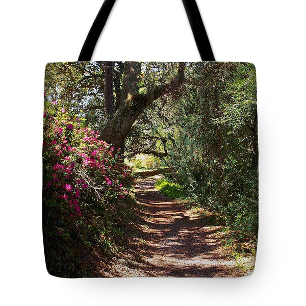 Azalea Path  Tote Bag