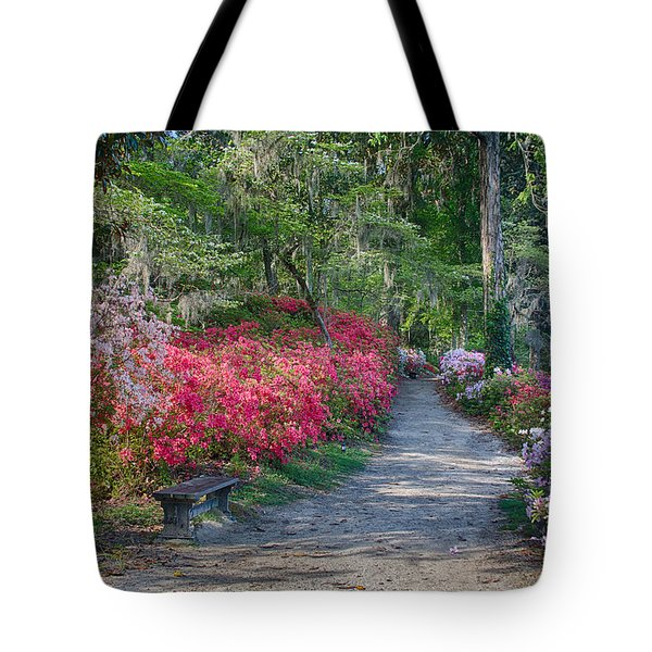 Azalea Path Tote Bag