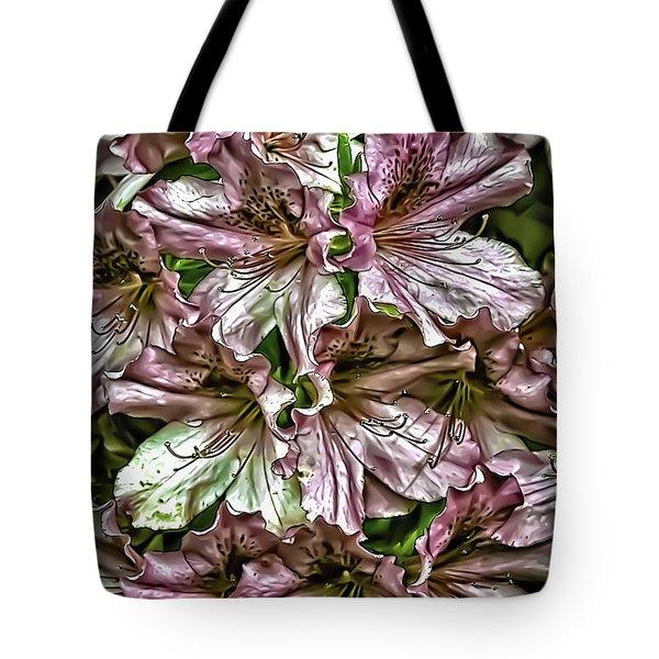 Azaleas Tote Bag by Walt Foegelle