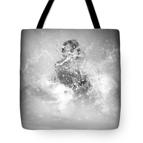 Azlinn Splash Tote Bag by Amanda Eberly-Kudamik