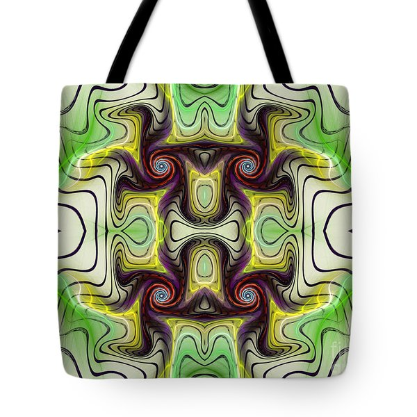 Aztec Art Design Tote Bag