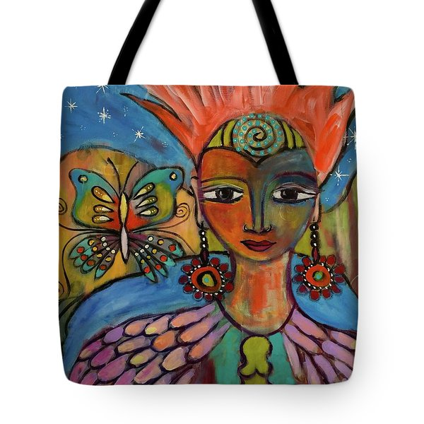 Aztec Princess Tote Bag