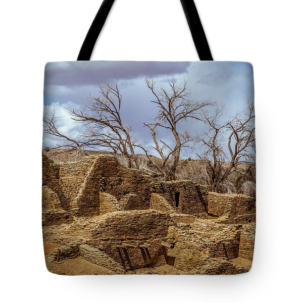 Aztec Ruins, New Mexico Tote Bag